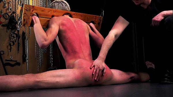 Hot BDSM Slave Boys Fucked Bareback & Cum – Hardcore Gay Bondage
