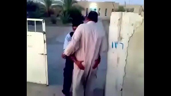 Horny Arab Security Guard