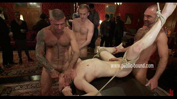 House of sins hosts gay group sex